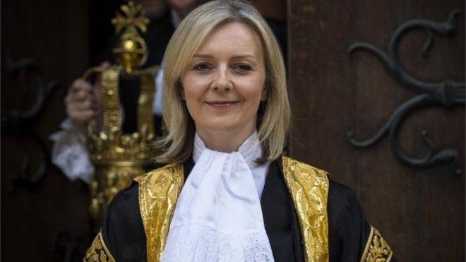 Liz Truss - the new Justice Secretary