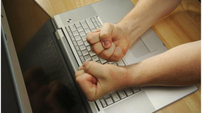 Usuário na internet