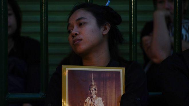 Người Thái tiếc thương nhà vua