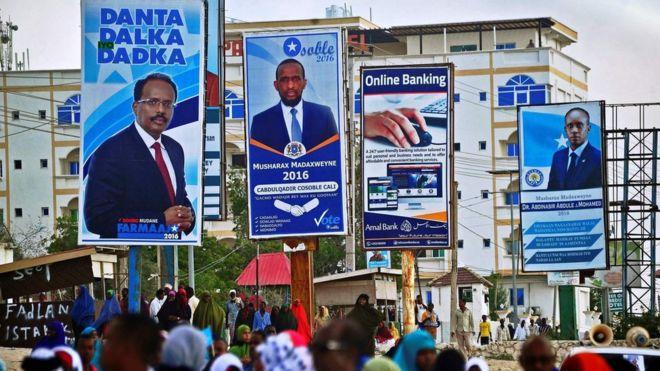 Wagombea wa uchaguzi wa urais Somalia