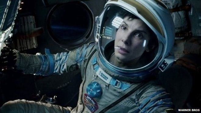 Sandra Bullock starred with George Clooney in the British-made Gravity