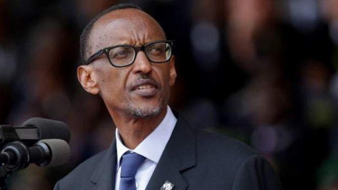 M. Kagame était un chef rebelle lorsque l'avion présidentiel a été abattu, en 1994