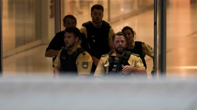 Munich shooting: 'Several' killed in shopping centre