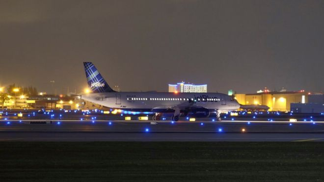 Aeroporto de Fort Lauderdale, na Flórida