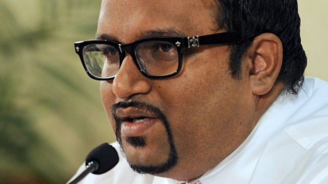 Maldives Vice-President Ahmed Adeeb pictured in November 2013