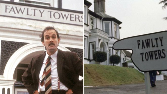 Basil Fawlty and Fawlty Towers