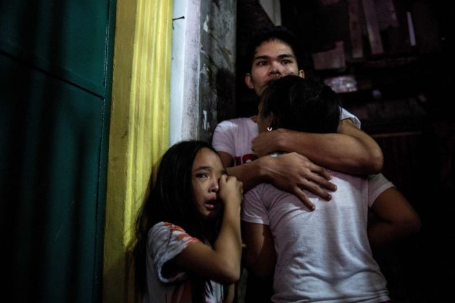 More than 7,000 individuals have been killed in the Philippines since July 2016. Photo courtesy of: AFP