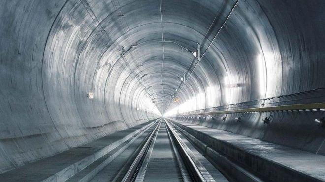 全世界最长的铁路隧道在瑞士建成