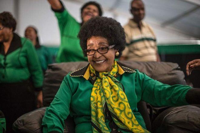 Winnie Madikizela-Mandela alikuwa mke wa Nelson Mandela