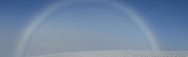 Arco de niebla en Cairngorms