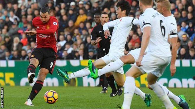 Zlatan Ibrahimovic ataongezewa mkataba wa mwaka mmoja katika klabu ya Man United kulingana na meneja Jose Mourinho