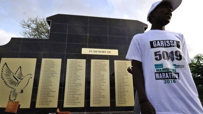 Garissa hosts a memorial run for the victims, 2 April