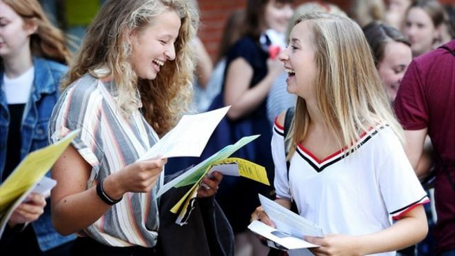 The long wait is over for A-level results