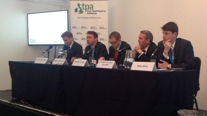 Taxpayers' Alliance meeting