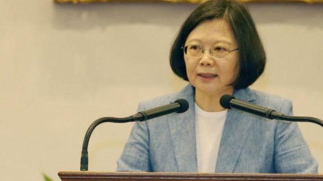 蔡英文:台湾愿创造台海和平新时代