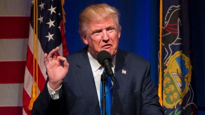 Trump amemtaja Clinton kama mwanamke mkakamavu na mwenye tajiriba kubwa