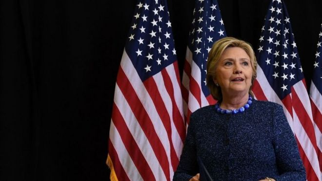 Bi Clinton amesema kuwa alikuwa na uhakika kwamba shirika hilo la upelelezi lingesema hivyohivyo kwa mara nyingine