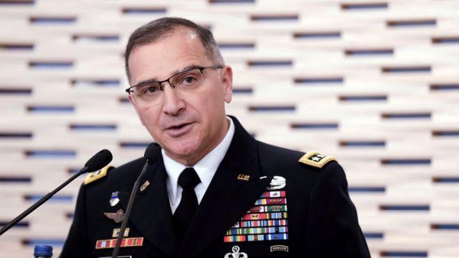 ژنرال آمریکایی روسیه را به حمایت از طالبان متهم کرد