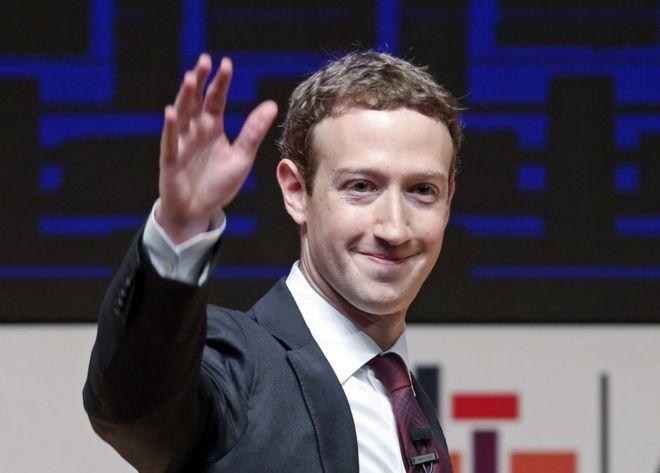 El fundador y CEO de Facebook, Marck Zuckerberg.