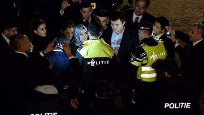 Türkiye Hollanda gerginliği büyüyor