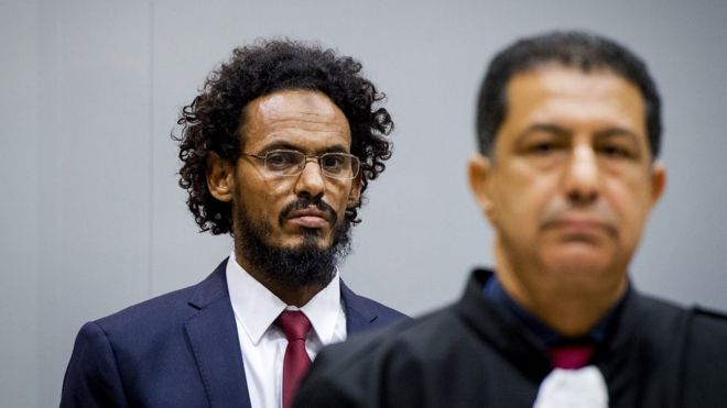 Ahmad al-Faqi al-Mahdi at the ICC on 30 September 2015