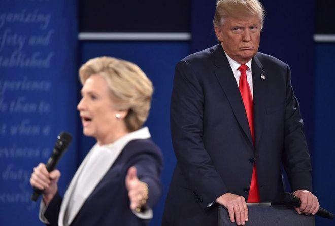 Los 5 momentos más tensos e incómodos del hostil debate presidencial entre Donald Trump y Hillary Clinton en EE.UU.