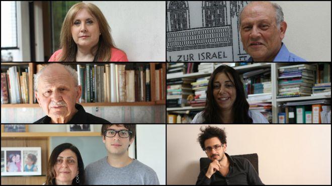 Varios miembros de la comunidad judía sefardí en Buenos Aires.