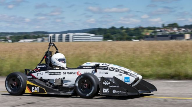 grimsel electric racing car