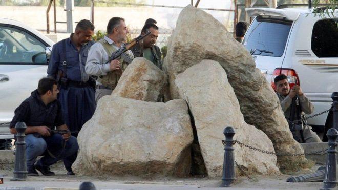 Vikosi vya Kikurdi vilijumuika na wanajeshi wa Iraq katika operesheni hiyo