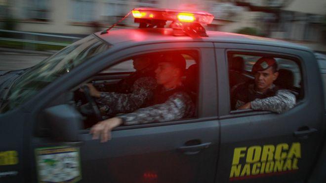 Operação da Força Nacional em Porto Alegre