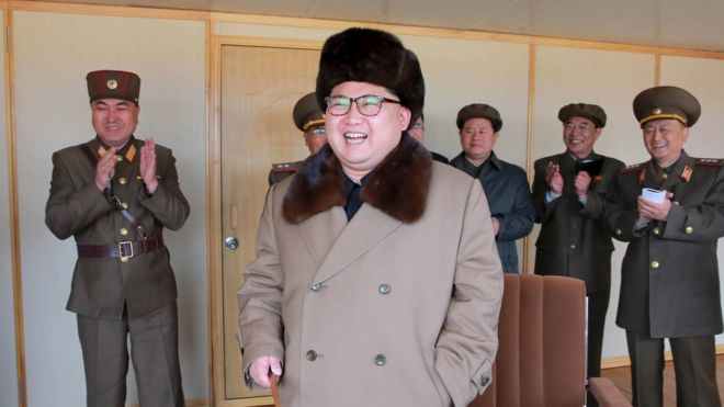 North Korea 'tests long-range missile engine'