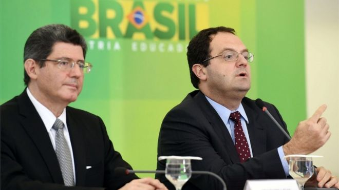 Joaquim Levy and Nelson Barbosa