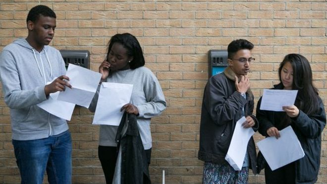 Students get results in London