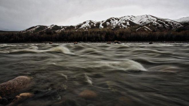River in Kyrgyzstan