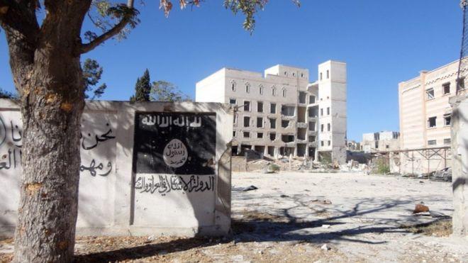 Manjib en el norte de Siria