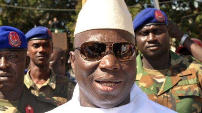 Yahya Jammeh aliingia madarakani kwa njia ya mapinduzi mwaka 1994