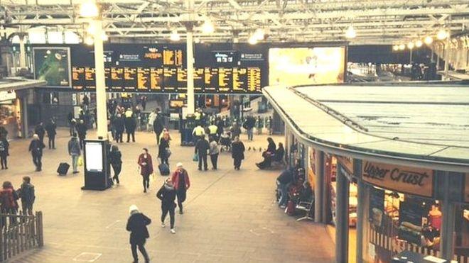 Ο σταθμός Waverley
