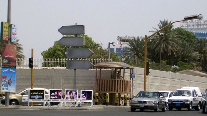 US consulate in Jeddah, Saudi Arabia, file picture