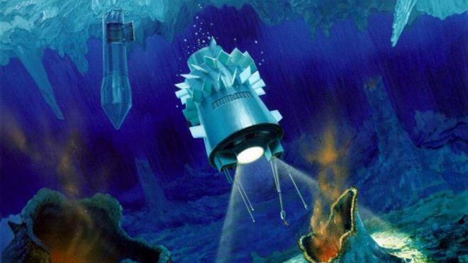 Submarino a Europa