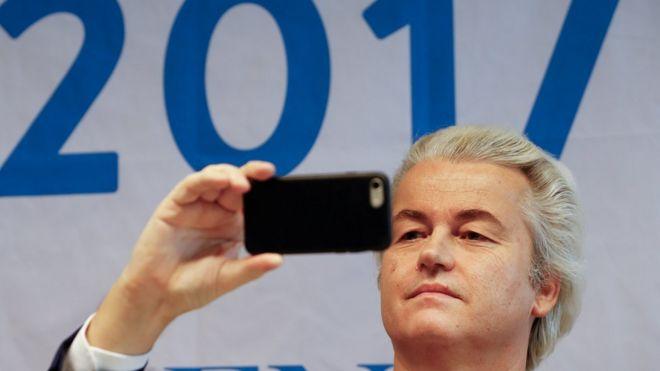 خیرت ویلدرز، سیاستمدار راستگرای هلندی