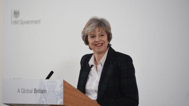 英首相宣布脱欧计划:必须退出欧洲单一市场
