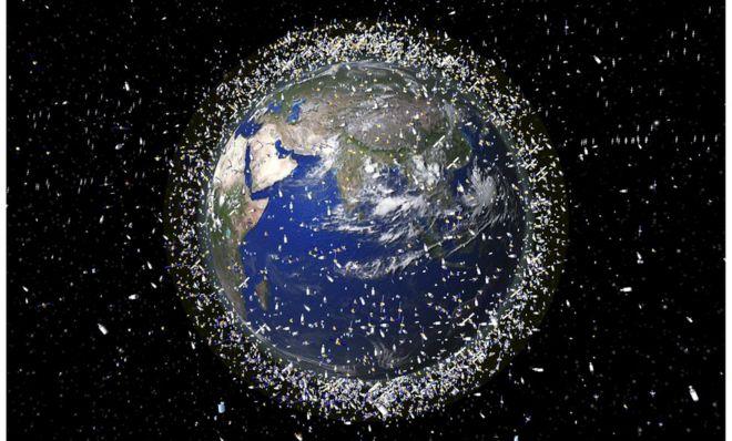 Япония опробует новый способ уборки космического мусора