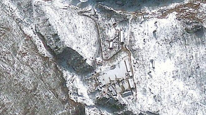 Risultati immagini per North Korea preparing for nuclear test.