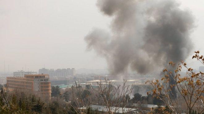 喀布尔近期发生多起爆炸