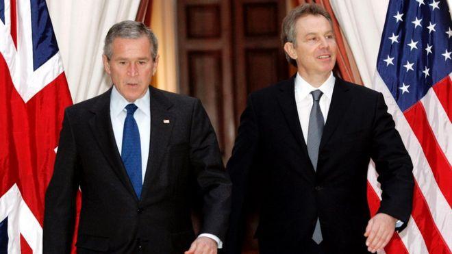 Bush y Blair