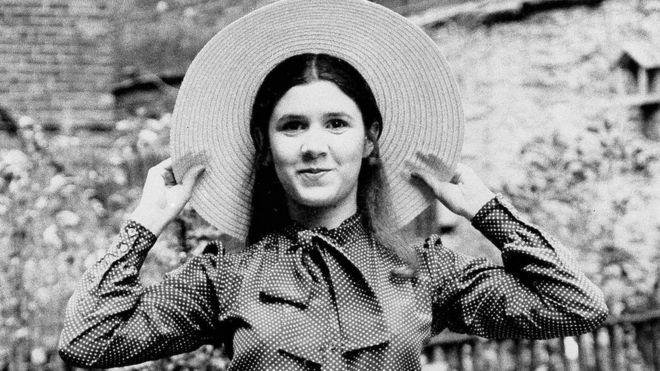 Carrie Fisher, de 16 años, en Nueva York el 2 de mayo de 1973
