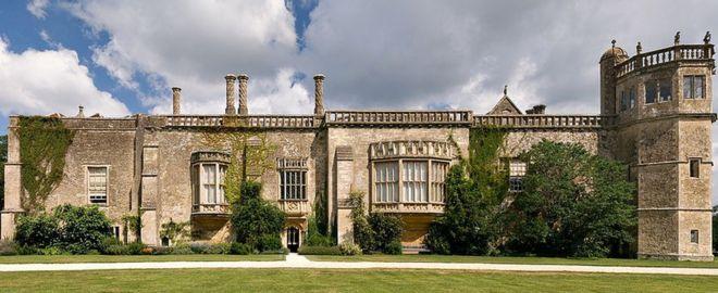 Abadía de Lacock, en Wiltshire, Inglaterra.