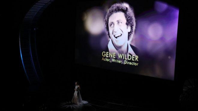 Recuerdo a Gene Wilder durante la ceremonia