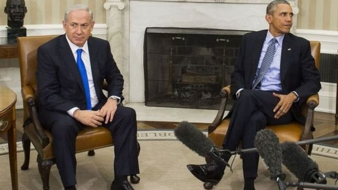Netanyahu ve Obama