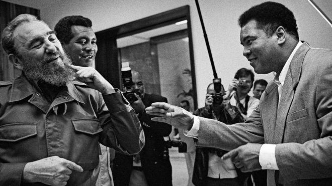 El día que Fidel Castro retó a Mohamed Alí